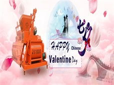 Concrete Mixing's Chinese Valentine's Day