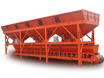 Belt Weighing Aggregate Batching Machine