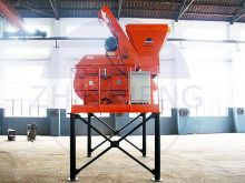 How does the Compounding System and Other Accessories for the Concrete Mixer work?