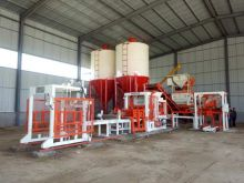 Block Making Machine used With Bacthing Plant