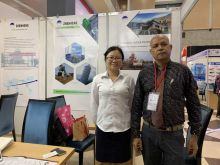 We are in Bangladesh for  CON-EXPO Exhibition
