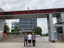 Vietnam client come factory for visiting